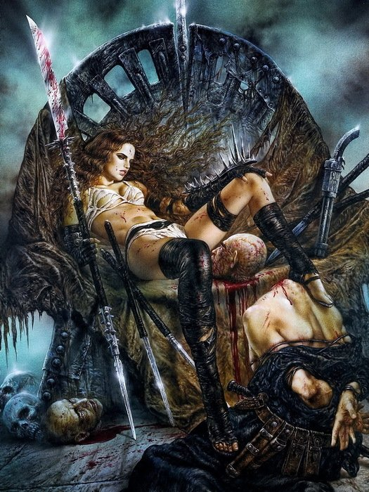 Luis Royo Fantasy Art 16x12 Wall Print Poster