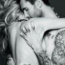 Adam Levine Embrace Tattoo Singer Music 16x12 Print Poster