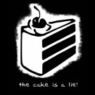 The Cake Is A Lie Portal Video Game Cool Art 16x12 Print Poster