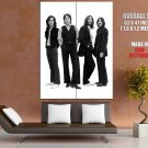 The Beatles Unbelievable Rare BW Music Rock Band GIANT Huge Print Poster
