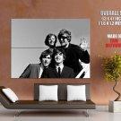The Beatles BW Amazing Fun USA Retro Rock Band GIANT Huge Print Poster