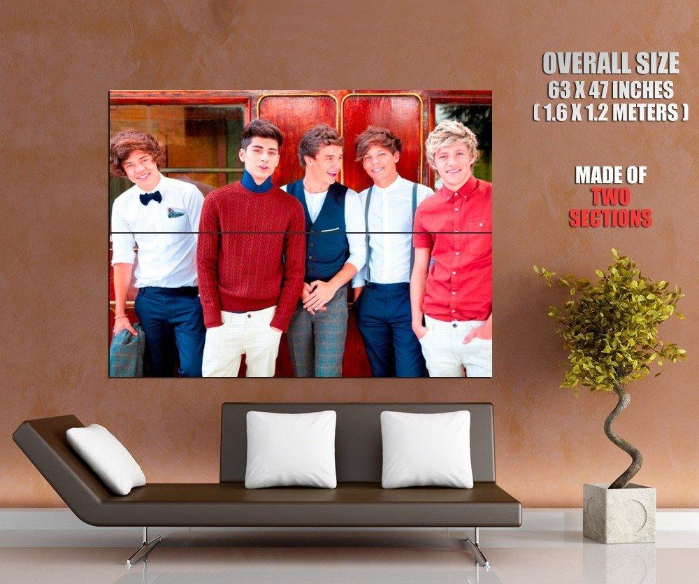One Direction Harry Styles Zayn Malik Liam Payne Louis GIANT Huge Print Poster