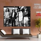 Led Zeppelin Awesome BW Hard Rock Heavy Metal Band GIANT Huge Print Poster