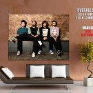 Bastille Dan Smith Farquarson Wood Simmons Rock Band GIANT Huge Print Poster