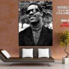 Stevie Wonder Rare BW Portrait Young Retro Music Singer GIANT Huge Print Poster