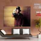 Johnny Depp Glasses Hat Jacket Hot Handsome Actor GIANT Huge Print Poster