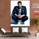 Drake Jacket Squatting Handsome Rap Music Artist Singer GIANT Huge Print Poster
