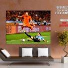 Arjen Robben Sliding Tackle The Netherlands Brazil GIANT Huge Print Poster