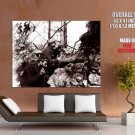 Soldiers Trench Rare WWI World War One WW1 Old Retro BW GIANT Huge Print Poster
