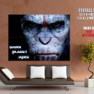 Dawn Of The Planet Of The Apes Caesar Andy Serkis Movie GIANT Huge Print Poster
