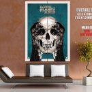 Dawn Of The Planet Of The Apes Skull Art 2014 Movie GIANT Huge Print Poster