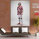 Luka Modric Croatia Football Soccer Sport GIANT Huge Print Poster