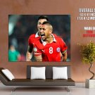 Arturo Vidal Amazing Cool Scream Chile Football Soccer GIANT Huge Print Poster