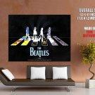 The Beatles Rock Pop Band Music Classic Art Amazing GIANT Huge Print Poster