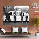 The Beatles Rock Pop Band Music Classic BW GIANT Huge Print Poster