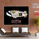 Led Zeppelin Rock Band Art Music GIANT Huge Print Poster