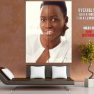 Lupita Nyong O Beautiful Actress Portrait GIANT Huge Print Poster