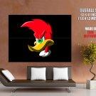 Woody Woodpecker Cool Cartoon Art GIANT Huge Print Poster