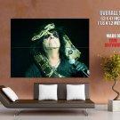 Alice Cooper Snake Hard Rock Music Singer GIANT Huge Print Poster