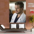Grey S Anatomy Mark Sloan Eric Dane Tv Series GIANT Huge Print Poster