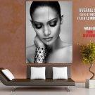 Jennifer Lopez Beautiful Cool Portrait BW Pop Singer GIANT Huge Print Poster