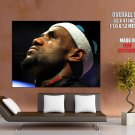 LeBron James King Awesome Portrait Miami Heat Sport GIANT Huge Print Poster