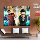 Doctor Who Matt Smith Jenna Louise Coleman TV Series GIANT Huge Print Poster