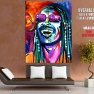 Stevie Wonder Music Portrait Amazing Painting Art GIANT Huge Print Poster