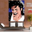 Michael Jackson Music Portrait Amazing Art Singing GIANT Huge Print Poster