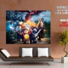 LEGO The Hobbit Characters Awesome Video Game Art GIANT Huge Print Poster