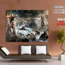 Hobbit Movie Smaug Dwarves Thorin Bard Legolas Tauriel GIANT Huge Print Poster