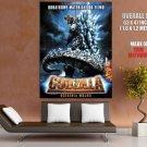 Godzilla Final Wars Awesome Gojira Japanese Movie Art GIANT Huge Print Poster