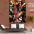 Godzilla Mothra Mechagodzilla Vintage Classic Art GIANT Huge Print Poster