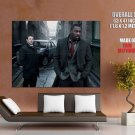 Luther TV Series Idris Elba Inspector John Luther Giant Huge Wall Print Poster