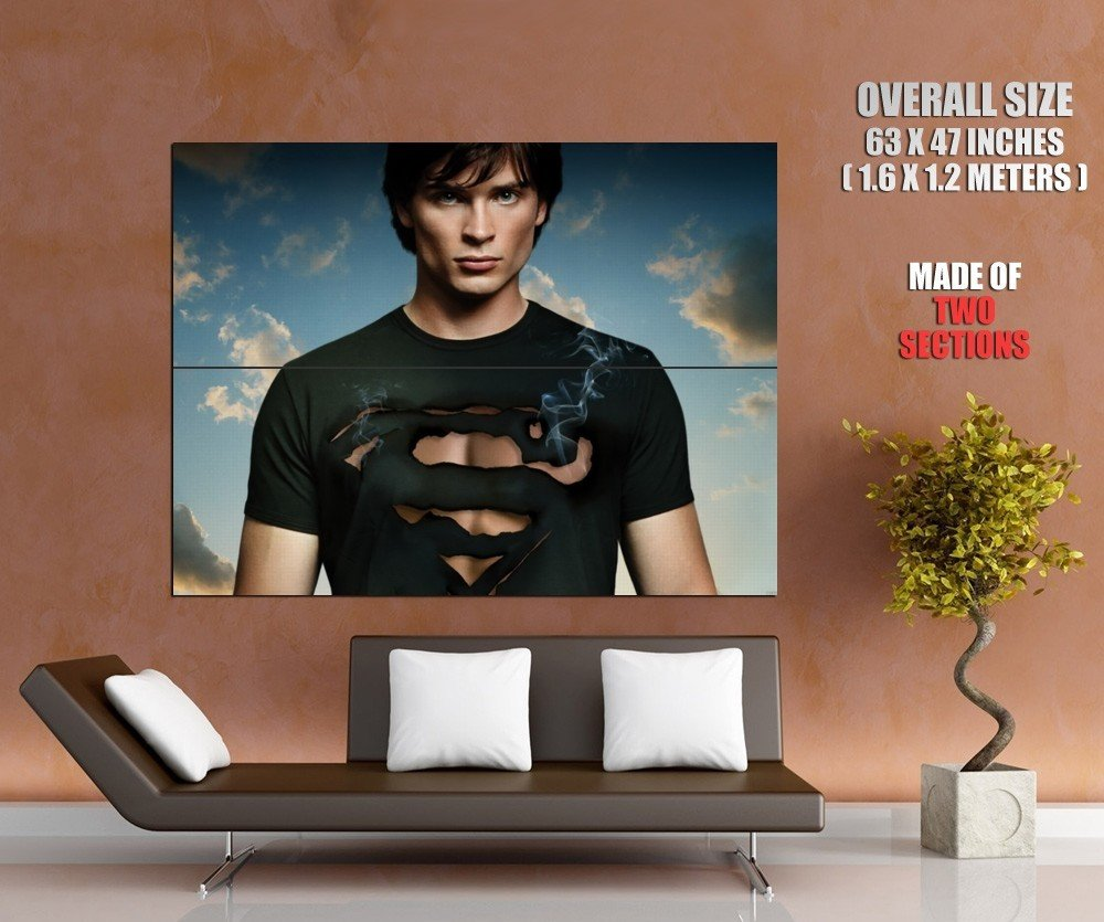 Tom Welling Smallville Clark Kent Giant Huge Wall Print Poster