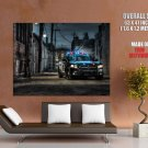 Dodge Charger Pursuit Police Car Giant Huge Wall Print Poster