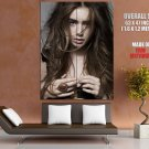 Lily Collins Actress Giant Huge Wall Print Poster
