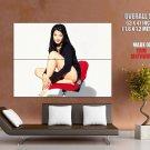 Kelly Hu Actress Model Giant Huge Wall Print Poster