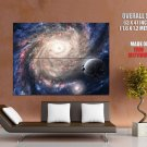 Universe Galaxy Stars Planet Fantasy Giant Huge Wall Print Poster