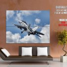 FA 18 Super Hornet Fighter Attack Aircraft Giant Huge Wall Print Poster