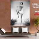 Cyd Charisse Actress Dancer Pin Up Giant Huge Wall Print Poster