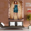 Christina Hendricks Actress Busty Babe Giant Huge Wall Print Poster