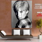 Barbra Streisand Beauty Hollywood Legend Actress BW Giant Huge Wall Print Poster