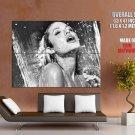 Angelina Jolie Hot Actress Sexy Lips Giant Huge Wall Print Poster
