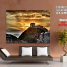 China Great Wall Sunset Mountains Landscape Giant Huge Wall Print Poster