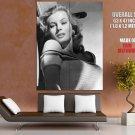 Anita Ekberg Actress La Dolce Vita Sex Symbol Giant Huge Print Poster