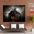 Triumph Speed Triple Bulldog Bike Giant Huge Print Poster