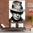 Neil Young Legend Falk Country Rock Music Giant Huge Print Poster