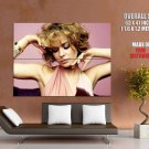Carmen Electra Glamour Model Sexy Curls Giant Huge Print Poster