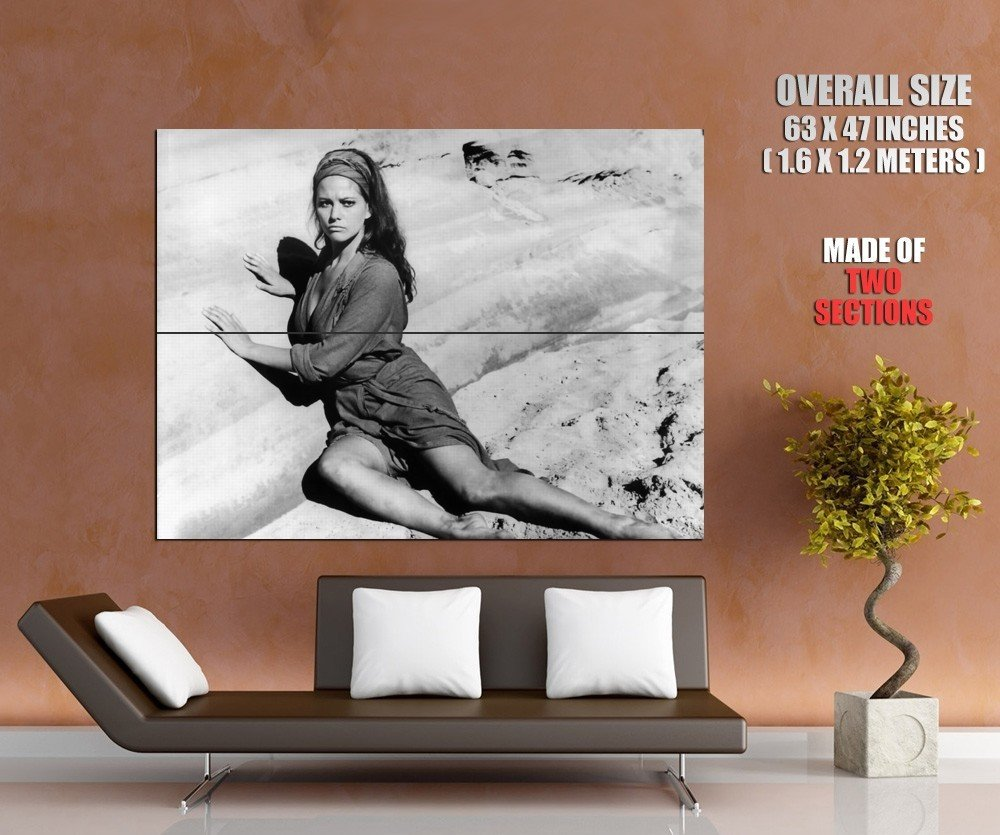 Claudia Cardinale Italian Actress Vintage Beauty Giant Huge Print Poster